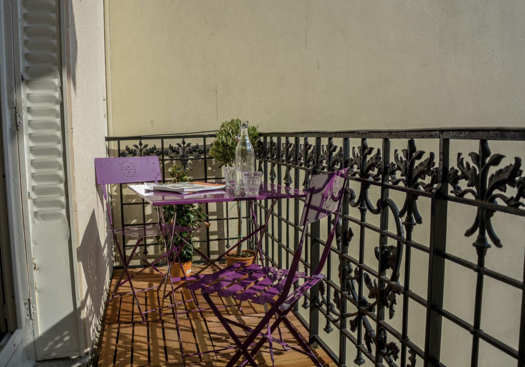 A louer appartement meublé – rue de billancourt  avec balcon – 36.50 m2