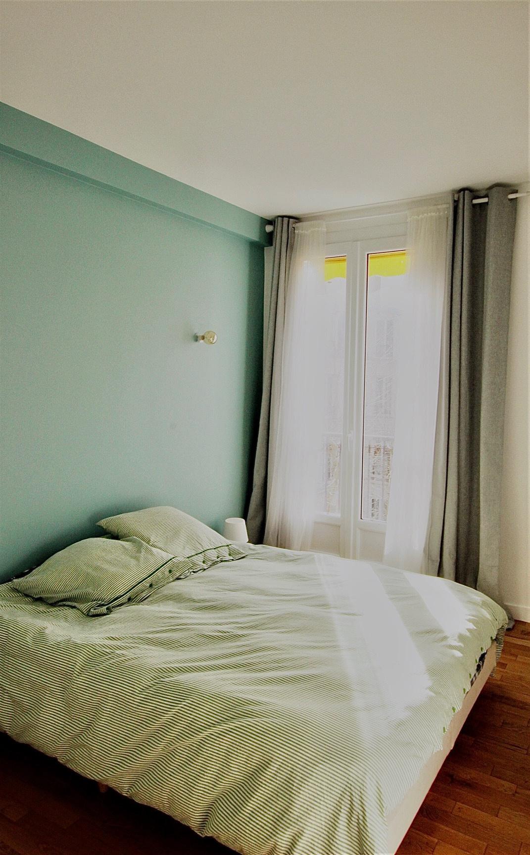 A louer appartement 3 pièces refait à neuf avec vue sur seine